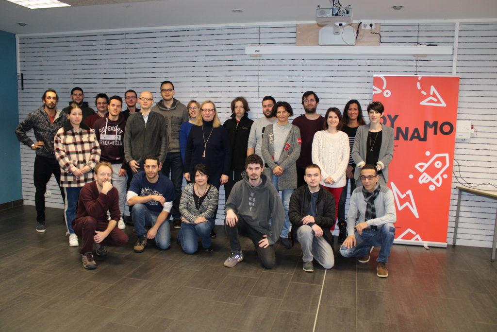 Remise des diplomes et accueil de la promo 2020 de Simplon