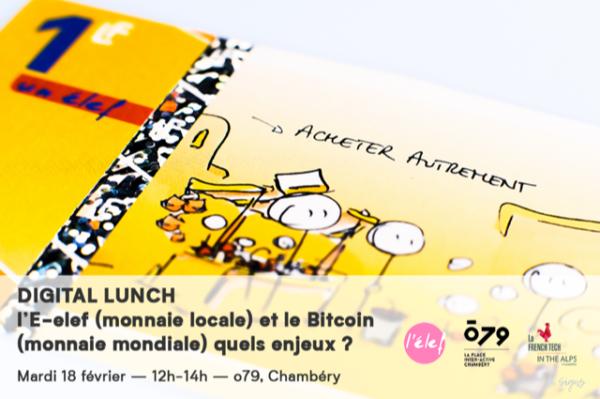 l'E-elef (monnaie locale) et leBitcoin(monnaie mondiale) quels enjeux?