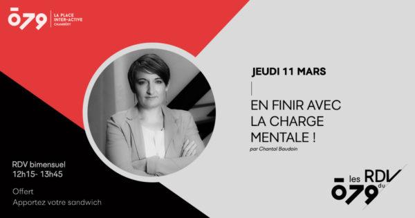 En finir avec la charge mentale!   par Chantal Baudoin