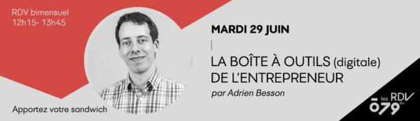 LA BOÎTE À OUTILS (DIGITALE) DE L'ENTREPRENEUR